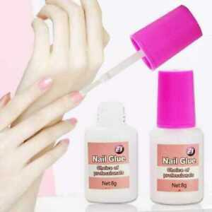 Nail Glue With Brush 8g 💖 EXTRA STRONG 💖 Professional False Tip Quick