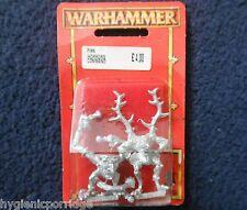 1997 Chaos Pink Horror Command Standard Bearer Citadel Warhammer Army Banner MIB