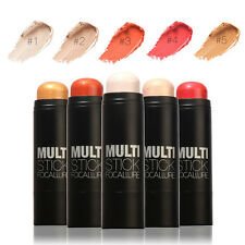 5 Couleurs Maquillage Contouring Blush Contour Crayons Bronzer Highlighter Stick