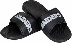 Oakland Raiders NFL 2019 Men's Legacy Sport Slide Sandals-NEW