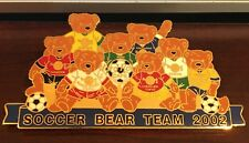 HARD ROCK CAFE JAPAN 2002 SOCCER PLAYER BEAR TEAM JUMBO PIN HERRINGTON