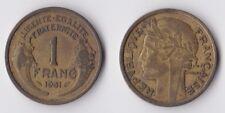 1931 France 1 franc coin