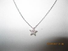 Brand new Lucky Star Pendant Necklace, Silver Plated - Nice Gift
