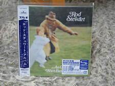 ROD STEWART AN OLD RAINCOAT WON'T EVER LET YOU DOWN REMASTER RARE MINI-LP SHM CD