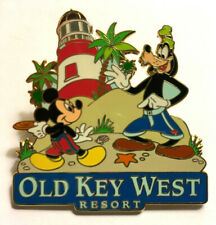 Disney Pin #23906-Mickey Mouse & Goofy at Old Key West Resort-Lighthouse