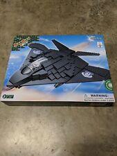 BanBao F-117 Spy Fighter Plane Toy Building Set, 250-Piece