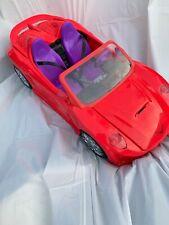 Barbie Doll Car Convertible No Remote