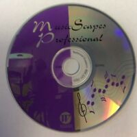 MusicScapes Professional CD-ROM for Win/Mac Computer Software Music Education