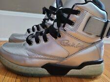 Patrick Ewing 33 Mens Sneaker Hi Platinum Silver Ice Soles Shoes Size 9.5