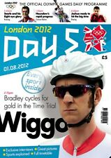 * OLYMPIC GAMES DAY 5 PROGRAMME LONDON 2012 *