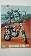 Prospectus Catalogue Brochure Moto YAMAHA 250 DT-1 F 1970