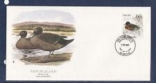 e/ New Zealand  enveloppe oiseasu canard  1987