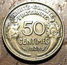 PIECE DE 50 CENTIMES MORLON 1932 (243)