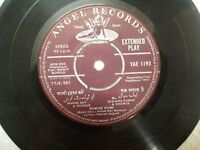 "BHOOT BUNGLA  R D BURMAN  TAE 1193 RARE BOLLYWOOD ost EP 7"" RECORD 45 RPM vg-"