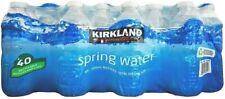 Kirkland Natural Spring Drinking Water Still 500ml 40 Bottles Recyclable Bottled