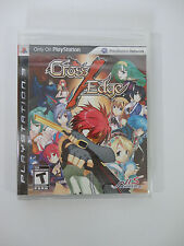 CROSS EDGE X for Sony PS3 NEW & SEALED PlayStation US Version RARE Region 1