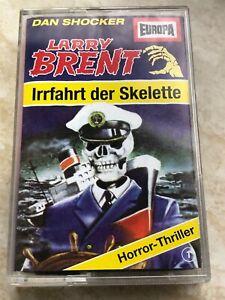 MC Larry Brent Europa Irrfahrt Skelette Grusel Horror Nr 1 Kassette Hörspiel
