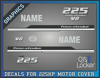 Mercury 8 HP CRV Curved Logo FourStroke Outboard Repro 6 Piece Decals 4S 2006