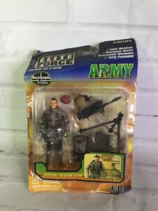 Elite FORCE Military Army Support Weapon Team Action Figure With Accessories NEW