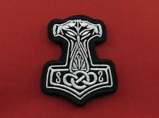 Thor's Hammer Tactical Vikings Morale Embroidered Hook & Loop Patch