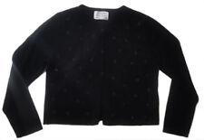Pulls et cardigans noirs en laine mélangée pour fille de 2 à 16 ans
