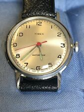 vintage  Timex Marlin  1969  Watch With Original Strap New Old Stock FWC