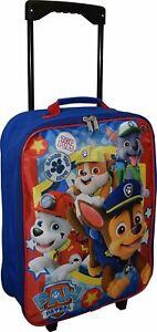 "Nickelodeon Paw Patrol Boy's 15"" Collapsible Wheeled Pilot Case - Rolling Luggag"