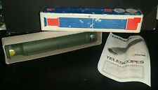"Vintage 1978 NEW Tasco Telescope Model 30T Rare 9 3/4"" Long 12 1/2"" Long Opened"