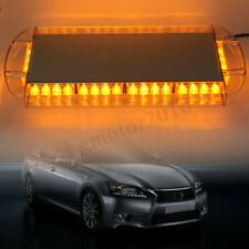 "21"" 40 LED Strobe Light Emergency Beacon Warning Tow Truck Roof Top Yellow Amber"