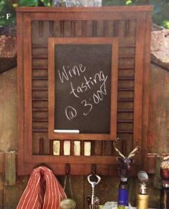 "20"" x 16"" Biltmore Inspirations Reserve Cork Chalkboard Hardwood - Beautiful!"