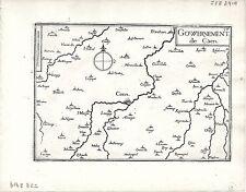 Antique maps, Gouvernement de Caen