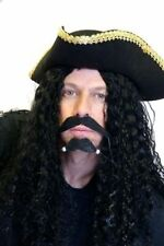 Pirate-Buccaneer-Muscateer-Captain Hook WIG & MOUSTACHE SET