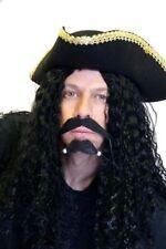 Pirate-Buccaneer-Muscateer-Captain Hook WIG & MOUSTACHE SET