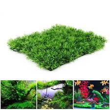 Green Plastic Fish Tank Water Grass Plant Lawn Landscape Aquarium Ornament