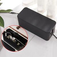 Socket Storage Box Power Strip Outlet Surge Cord Organizer Cable Management tyu