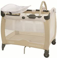 Graco Contour Electra Travel Cot Benny And Bell  New Free Post