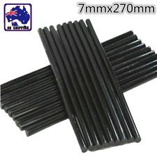 10pcs 7x270mm Black Hot Melt Glue Stick Adhesive for Art Crafts DIY TGLU59807x10