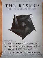 THE RASMUS 2009 TOUR  ORIGINAL Concert-Konzert-Poster-Plakat DIN A1