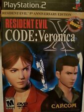 Resident Evil Code Veronica 2001 Playstation 2 Game