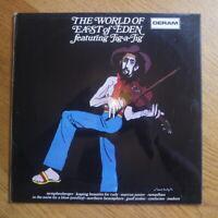 """East of Eden """"World of"""" feat Jig A Jig Vinyl LP (Deram, 1971) Folk Rock"""