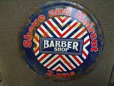 Vintage Shave And Haircut Barber Shop 2-Bits Sign