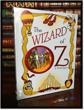 The Wizard of Oz Sealed Leather Bound Illustrated Children's Gift Collectible