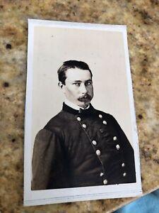 Rare CDV PHOTO Civil War Era General Bayard