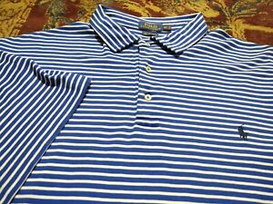 RALPH LAUREN POLO Men's Polo Style 100 Cotton 4XLT TALL SS Shirt SOFT PIMA TOUCH