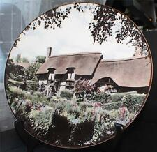 Vintg Royal Doulton English China Anne Hathaway'S Cottage Shottery Plate Tc 1027