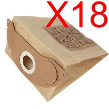 18X Vacuum Cleaner Bags Fits Karcher A2004 2501 2601 3001 A2200 A2054