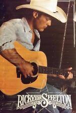 "RICKY VAN SHELTON Poster 36X24"" 1989 Rare Vintage Original"