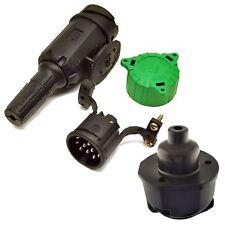 13 PIN Plug Trailers Caravans Electric Wring Plug And Socket with Gasket Euro