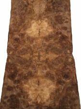 Nußbaum Wurzelholz Furnier Intarsien X 49x17/18cm 7 Blätter