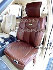 i - TO FIT A VOLKSWAGEN PASSAT CAR, SEAT COVERS, YMDX BROWN, RECARO BUCKET SEATS